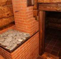 Как построить печь в бане