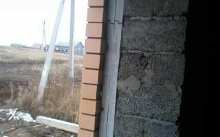 Расчет толщины стены по теплопроводности