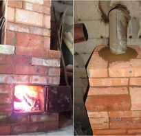 Печь для дома из кирпича своими руками