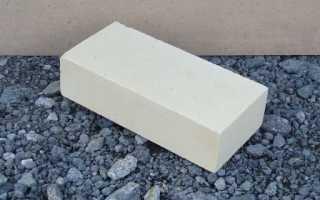 Вес белого силикатного кирпича полуторного