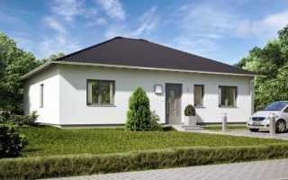 Проекты кирпичных одноэтажных домов
