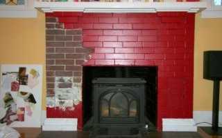 Чем покрасить печку в доме