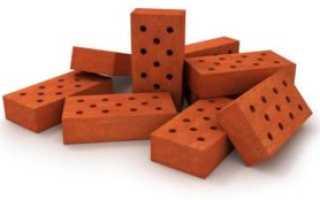 Сколько одинарного кирпича в кубе кладки