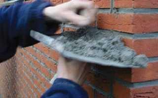Снип на кирпичную кладку стен и перегородок