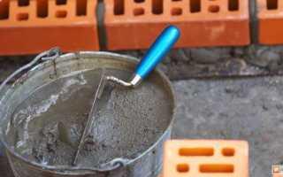 Как правильно замесить раствор для кладки кирпича