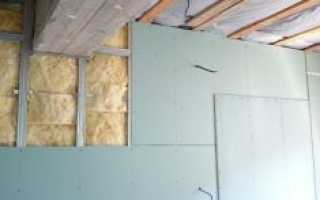 Утепление кирпичной стены изнутри минватой