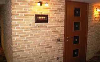 Панели на стену под кирпич