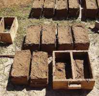 Кирпич из глины с соломой