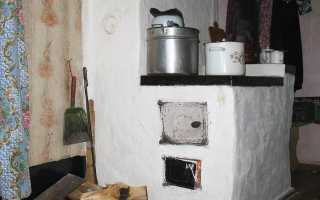 Чем побелить печь