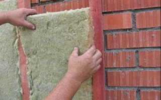 Чем лучше утеплить кирпичную стену снаружи