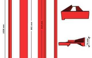 Рамка для кладки кирпича