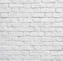 Белый кирпич в интерьере