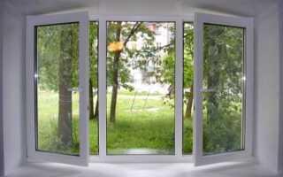 Как вставить пластиковое окно