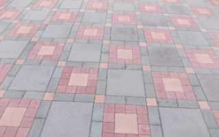 Кирпич вместо тротуарной плитки