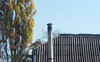 Оголовок дымовой трубы