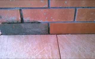 Чем очистить кирпич от цемента