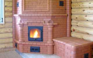 Размеры кирпичных печей для дома