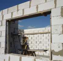 Перемычка из уголка для кирпичной стены