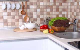 Стеновая панель под кирпич для кухни