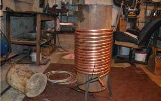 Теплообменник в печь для отопления