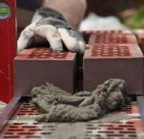Расход раствора на 1м2 кирпичной кладки