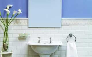 Плитка в ванную под кирпич