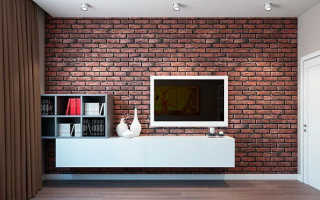 Как на стене сделать имитацию кирпичной кладки