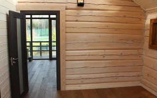 Чем можно обшить стены внутри дома